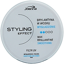 Fragrances, Perfumes, Cosmetics Hair Wax Brilliantine - Joanna Styling Effect Wax Brilliantine
