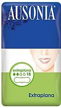 Fragrances, Perfumes, Cosmetics Ultra Thin Pantiliners, 18 pcs - Ausonia Compresses Extraplana
