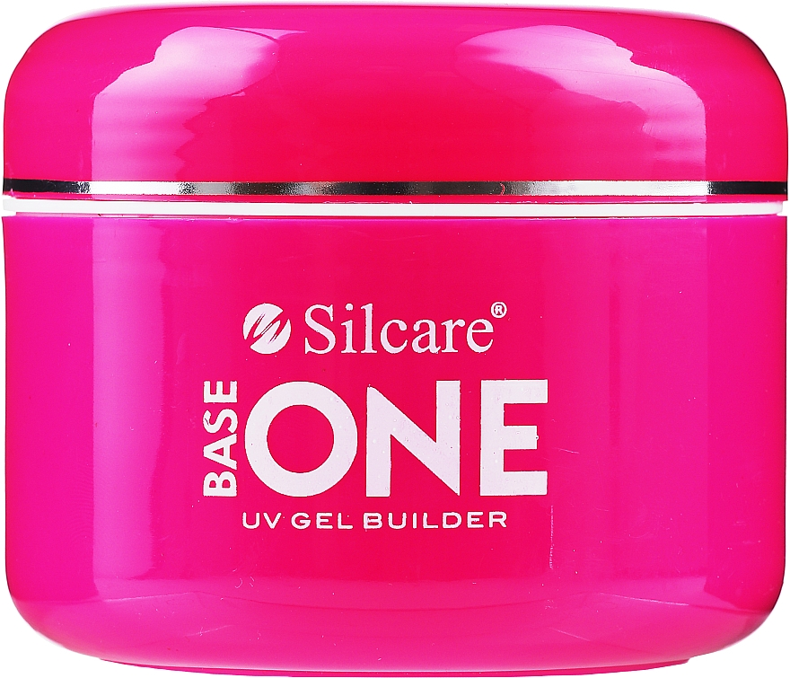 Nail Extension Gel - Silcare Base One Cover Dark