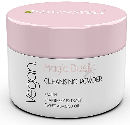 Cleansing Face Powder for Dry Skin - Nacomi Face Cleansing & Brightening Powder Magic Dust