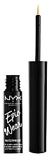 Fragrances, Perfumes, Cosmetics Liquid Eyeliner - NYX Epic Wear Liquid Liner