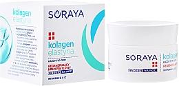 Fragrances, Perfumes, Cosmetics Anti-Wrinkle Regenerating Light Cream - Soraya Collagen + Elastin Regenerating Semi-Rich Day and Night Cream