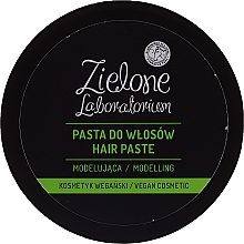 Fragrances, Perfumes, Cosmetics Modeling Styling Hair Paste - Zielone Laboratorium
