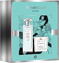 Fragrances, Perfumes, Cosmetics Allvernum Lilly & Jasmine Gift Set - Set (edp/50ml + candle/100g)