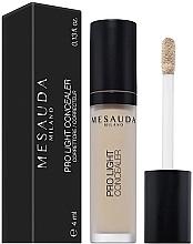 Fragrances, Perfumes, Cosmetics Liquid Concealer - Mesauda Milano Pro Light Concealer