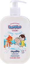 Fragrances, Perfumes, Cosmetics Antibacterial Panthenol Hand Soap with Fruit Scent - Bambino Family Antibacterial Soap