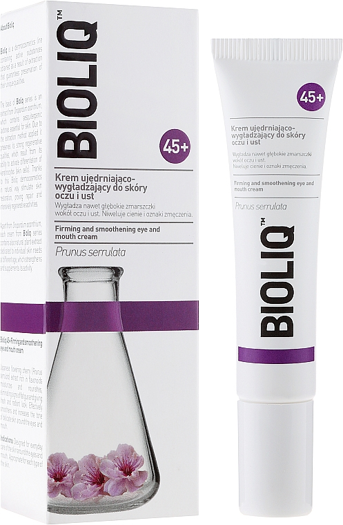 Smoothing and Firming Eye and Lip Cream - Bioliq 45+ Firming And Smoothening Eye And Mouth Cream