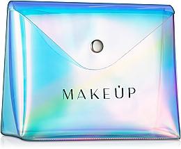 "Fragrances, Perfumes, Cosmetics Clear Makeup Bag ""Holographic"", 16x13x6cm - MakeUp"