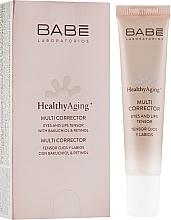 Fragrances, Perfumes, Cosmetics Anti-Aging Eye & Lip Multi Corrector - Babe Laboratorios Healthy Aging Multi Corrector