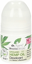 "Fragrances, Perfumes, Cosmetics Deodorant ""Hemp Oil"" - Dr. Organic Bioactive Skincare Hemp Oil Deodorant"