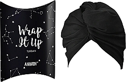 Fragrances, Perfumes, Cosmetics Codmetic Turban, black - Anwen Wrap It Up Turban