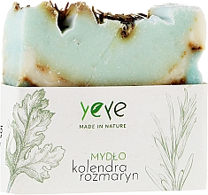"Fragrances, Perfumes, Cosmetics Natural Soap 100% ""Coriander and Rosemary"" - Yeye Natural Coriander and Rosemary Soap"