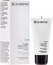 Fragrances, Perfumes, Cosmetics Normalizing Facial Emulsion - Academie Normalizing Fluid