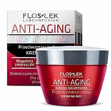 Fragrances, Perfumes, Cosmetics Night Face Cream - Floslek Anti-Aging Kuracja Hialuronowa Night Cream