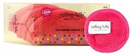 Fragrances, Perfumes, Cosmetics Mini Makeup Remover Towel, pink - Rolling Hills Mini Makeup Remover Pink