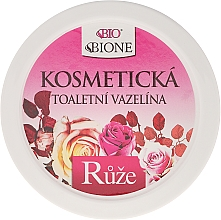 Fragrances, Perfumes, Cosmetics Vaseline - Bione Cosmetics Cosmetic Vaseline With Rose Oil