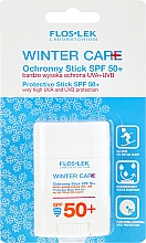 Fragrances, Perfumes, Cosmetics Winter Sun Stick - Floslek Winter Care Protective Stick SPF50
