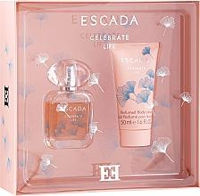 Fragrances, Perfumes, Cosmetics Escada Celebrate Life - Set (edp/30ml + b/lot/50ml)