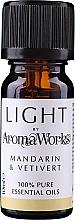 """Fragrances, Perfumes, Cosmetics Essential Oil """"Mandarin & Vetivert"""" - AromaWorks Light Range Mandarin and Vetivert Essential Oil"""