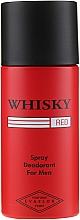 Fragrances, Perfumes, Cosmetics Evaflor Whisky Red For Men - Deodorant