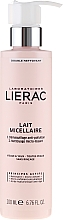 Fragrances, Perfumes, Cosmetics Micellar Makeup Remover Milk - Lierac Double Nettoyant Lait Micellaire