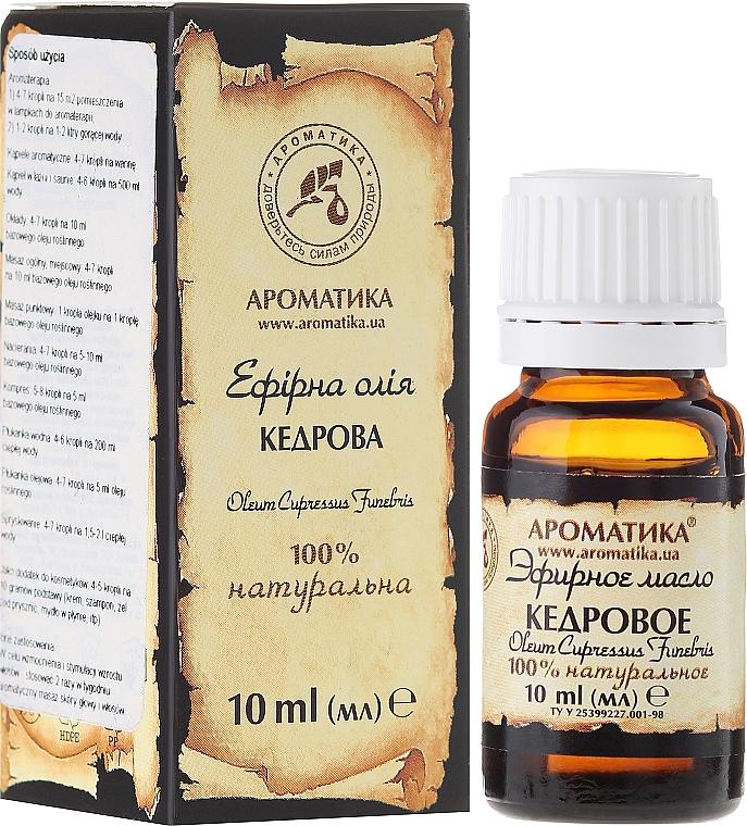 """Essential Oil """"Cedarwood"""" - Aromatika"""
