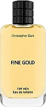 Fragrances, Perfumes, Cosmetics Christopher Dark Fine Gold - Eau de Toilette