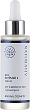 Fragrances, Perfumes, Cosmetics Face Serum for Dry and Sensitive Skin - Naturativ ecoAmpoule 1 Serum