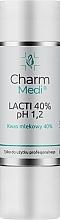 Fragrances, Perfumes, Cosmetics Lactic Acid 40% - Charmine Rose Charm Medi Lacti 40% pH 1.2