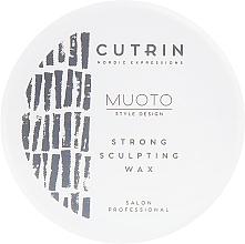 Fragrances, Perfumes, Cosmetics Sculpting Wax - Cutrin Muoto Strong Sculpting Wax