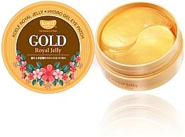 Fragrances, Perfumes, Cosmetics Gold & Royal Jelly Hydrogel Eye Patch - Petitfee & Koelf Gold & Royal Jelly Eye Patch