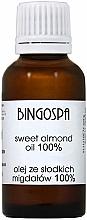 Fragrances, Perfumes, Cosmetics Sweet Almond Oil - BingoSpa