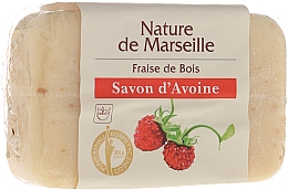 Fragrances, Perfumes, Cosmetics Oatmeal Soap with Strawberry Scent - Nature de Marseille Soap
