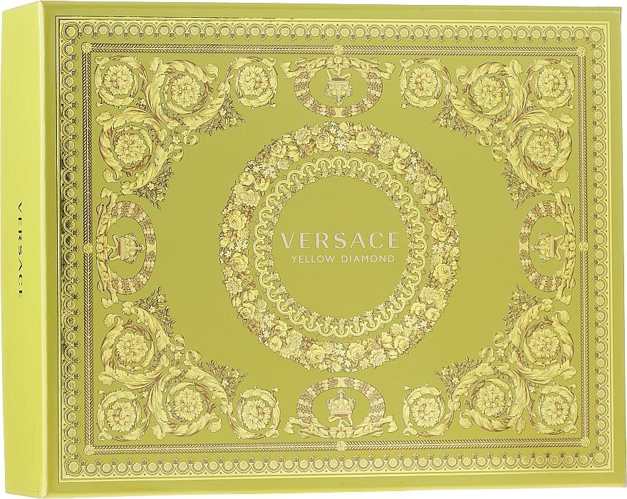 Versace Yellow Diamond - Set (edt/50ml + b/lot/50ml + sh/gel/50ml)