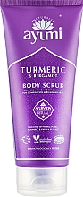 "Fragrances, Perfumes, Cosmetics Body Scrub ""Turmeric & Bergamot"" - Ayumi Turmeric & Bergamot Body Scrub"