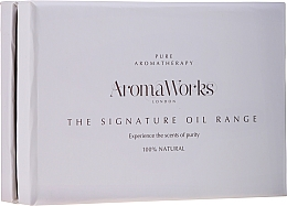 Fragrances, Perfumes, Cosmetics Set - AromaWorks Signature Oil Range (oil/4x10ml)