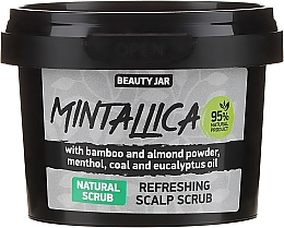 Fragrances, Perfumes, Cosmetics Refreshing Scalp Scrub - Beauty Jar Mintallica Refreshing Scalp Scrub