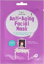 Fragrances, Perfumes, Cosmetics Anti-Aging Sheet Face Mask - Cettua Anti-Aging Facial Mask