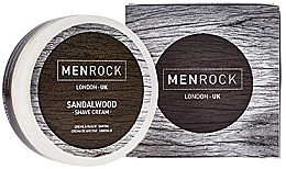Fragrances, Perfumes, Cosmetics Shaving Cream - Men Rock Sandalwood Shave Cream