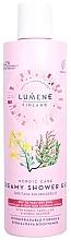 Fragrances, Perfumes, Cosmetics Smoothing Shower Cream for Dry Skin - Lumene Nordic Care Creamy Shower Gel