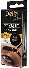 Fragrances, Perfumes, Cosmetics Brow Pomade - Delia Stylist Brow