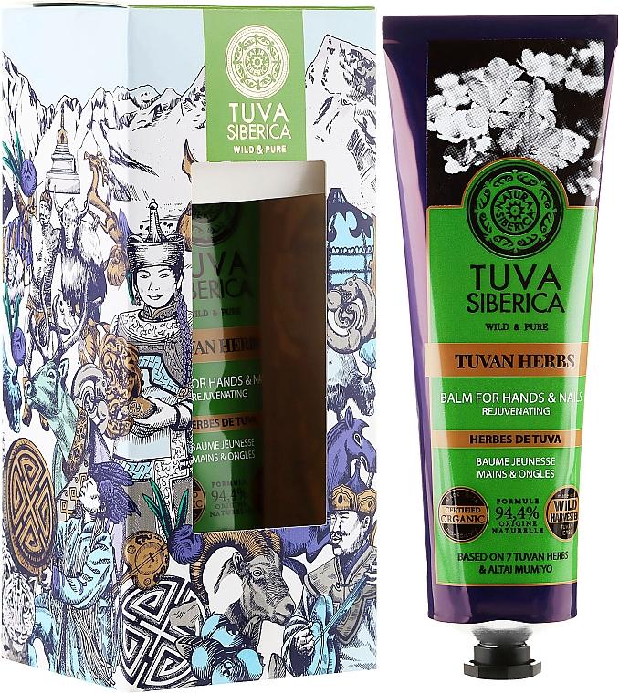 Regenerating Hand Balm - Natura Siberica Tuva Siberica Tuvan Herbs Rejuvenating Balm For Hands And Nails