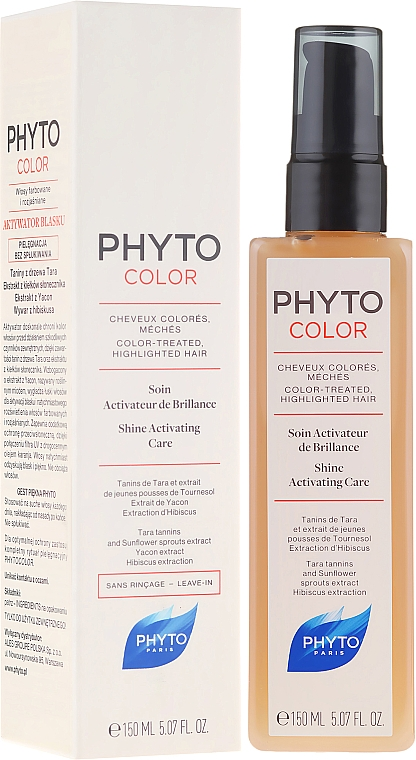 Leave-In Hair Care - Phyto Phyto Color Care Shine Activating Care