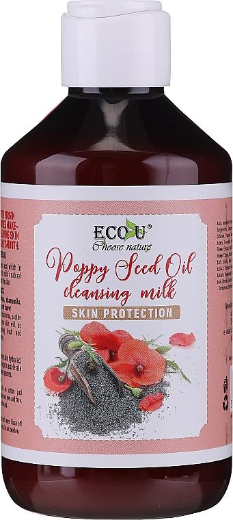 Face Cleansing Milk - Eco U Poppy Seed Oil Cleansing Milk