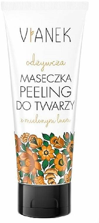 Nourishing Facial Peeling-Mask - Vianek Face Mask