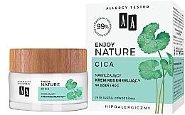Fragrances, Perfumes, Cosmetics Moisturizing Regenerating Face Cream - AA Enjoy Nature Cica Moisturising Regenerating Cream