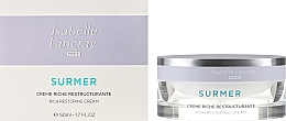 Fragrances, Perfumes, Cosmetics Rich Restoring Nourishing Cream - Isabelle Lancray Surmer Rich Restoring Cream