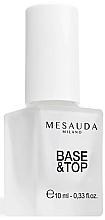 Fragrances, Perfumes, Cosmetics Base & Top Coat Nail Polish - Mesauda Milano Base & Top Coat Nail Polish 101