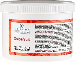 Fragrances, Perfumes, Cosmetics Anti-Cellulite Grapefruit Cream - Hristina Professional Anti Cellulite Firming Cream