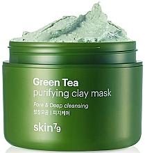 Fragrances, Perfumes, Cosmetics Clay & Green Tea Face Mask - Skin79 Green Tea Purifying Clay Mask